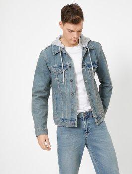 Джинсова куртка Koton 0YAM53036LD-600 Blue