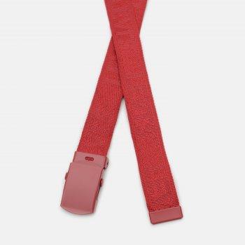 Женский ремень Levi's Tonal Tickfaw Web Belt 233202-109-87 OS Regular Red (7613417707955)