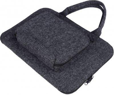 Сумка для ноутбука Gmakin GS02 для Macbook Air/Pro 13.3 Black (GS02)