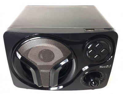 Колонки компьютерные для ПК ноутбука проводные USB Music D.J. SP-60 LED (gr_011631)