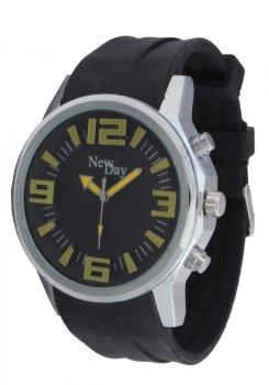 Мужские часы NewDay NDM260f на каучуковом ремешке