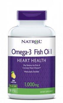 Жирні кислоти Natrol Omega-3 1000 мг 30% 150 капсул (047469040406)