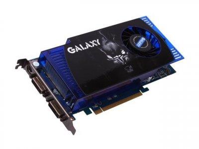 Видеокарта GALAXY PCI-Ex NVidia GeFORCE 9800 GT 512 MB DDR3 ( 256 BIT ) ( DVI ) Б/У