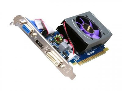 Видеокарта SPARKLE PCI-Ex NVidia GeFORCE GT 430 1GB DDR3 ( 128 BIT ) ( DVI, VGA, HDMI ) Б/У