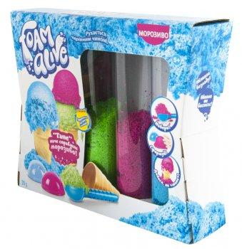 Набор с воздушной пеной для детского творчества Foam Alive Мороженое (5907)