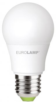 Світлодіодна лампа EUROLAMP А50 7W E27 4000K (LED-A50-07274(P))