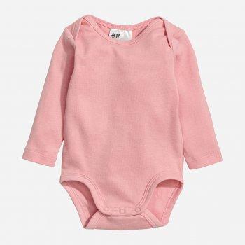 Боди H&M 505-5322612 92 см Светло-розовое (hm08545946580)