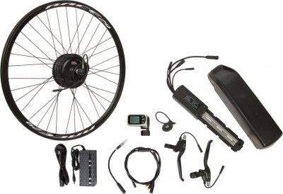 "Електричний велонабір на раму Velotrade Мотор-колесо 26"" задній редуктор 500 Вт 48 В 12.5 А·год 20 A (ELBK-059)"