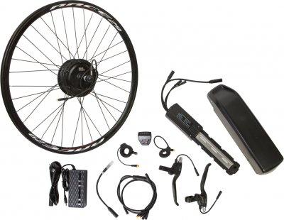 "Електричний велонабір на раму Velotrade Мотор-колесо 27.5"" задній редуктор 350 Вт 36 В 12.5 А·год 17 A (ELBK-055)"