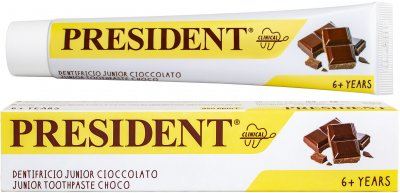 Детская зубная паста President Clinical Junior Шоколад от 6 лет 50 мл (8030009708302)