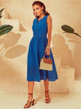 Платье Dressa 53866 Синее