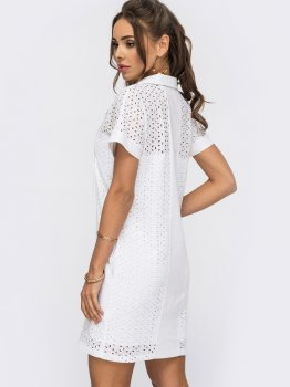 Платье Dressa 53993 Белое
