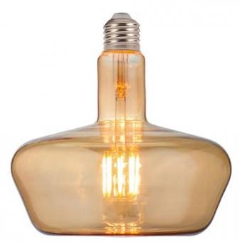 Лампа Horoz Electric Filament led Ginza 8W 2200К E27 Бурштин Жовта