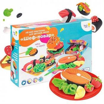 Набор для детской лепки из легкого пластилина «Шеф-повар» Genio Kids (TA1718)