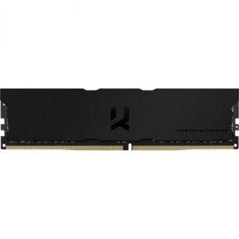 DDR4 2x8GB/3600 Goodram Iridium Pro Deep Black (IRP-K3600D4V64L18S/16GDC)