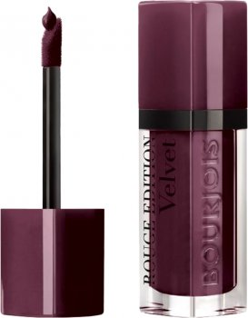 Рідка помада Bourjois матова Rouge Edition Velvet Lipstick №25 Berry Chic 7.7 мл (3614224843878)