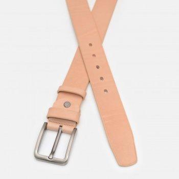 Ремень кожаный Sergio Torri 16-0068/40 беж 130-135 см Бежевый (2000000023205)