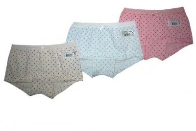 Трусы-шорты для девочек 3шт 5342 Baykar разные цвета