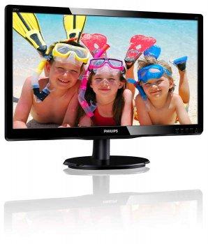 """Монитор Philips 19.53"""" 200V4QSBR/00 MVA Black"""