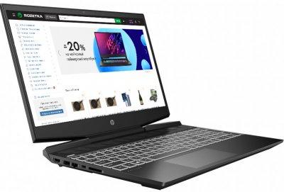 Ноутбук HP Pavilion Gaming 15 (423T8EA) Shadow Black
