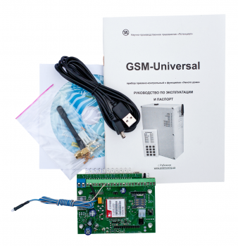 Охоронна сигналізація Потенціал Плата ППК GSM-Універсальний -1 GSM централь з функціями розумного будинку