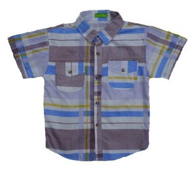 Сорочка для хлопчика CuteLittle різнобарвний