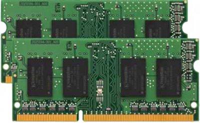 Оперативна пам'ять Kingston SODIMM DDR3L-1600 8192MB PC3L-12800 (Kit of 2x4096) (KVR16LS11K2/8WP)