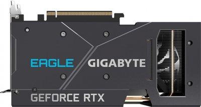 Gigabyte PCI-Ex GeForce RTX 3060 Eagle OC 12G 12GB GDDR6 (192bit) (15000) (2 х HDMI, 2 x DisplayPort) LHR (GV-N3060EAGLE OC-12GD v2.0)