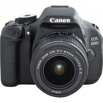 Дзеркальний фотоапарат Canon EOS 600D Kit 18-55