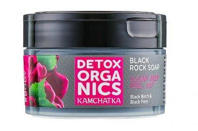Черное очищающее мыло Natura Siberica Detox Kamchatka для тела 200 мл (4680038354311)