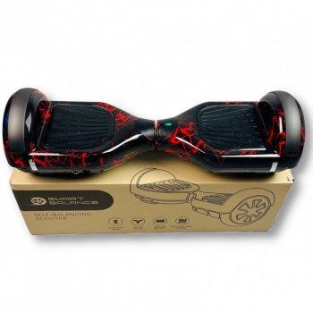 "Гироборд Smart Balance 6,5 дюймов"" PRO 2021 Красная молния АКБ Samsung 4400mAh / 700Вт Bluetooth-колонка и LED — подсветка колес"