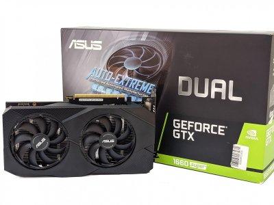 БУ Відеокарта Asus GeForce GTX 1660 Super 6gb 192bit GDDDR6