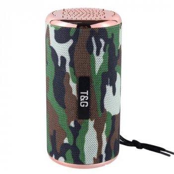 Портативная колонка TG-153 беспроводная Bluetooth FM-радио Камуфляж