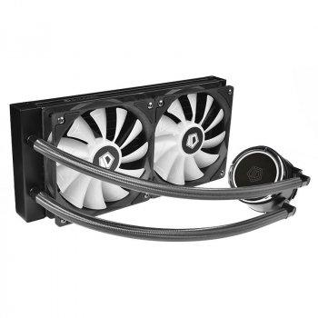 Система водяного охолодження ID-Cooling Zoomflow 240X ARGB, Intel: 1200/2066/2011/1366/1151/1150/1155/1156, AMD: TR4/AM4/FM2+/FM2/FM1/AM3+/AM3/AM2+/AM2, 277х120х27 мм, 4-pin