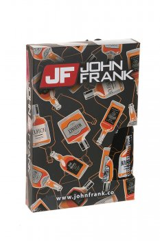 Трусы боксеры John Frank Чёрный микс (tenessey) (58753)