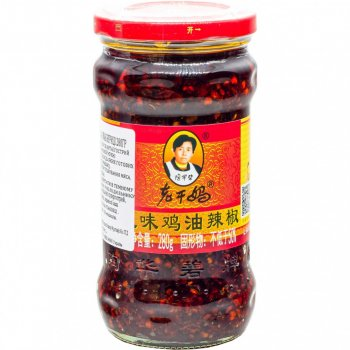 Чилі соус Лаоганма зі смаком курки Lao Gan Ma 280г