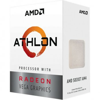 Процесор AMD Athlon 3000G (YD3000C6M2OFH) Tray