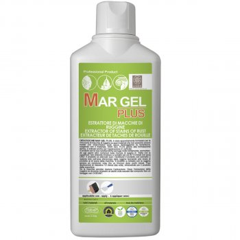 Очиститель ржавчины на мрамор, травертин MAR GEL PLUS Faber 500мл арт0010
