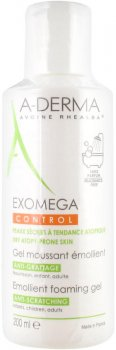 Смягчающий гель для тела A-Derma Exomega Control 200 мл (3282770110210)
