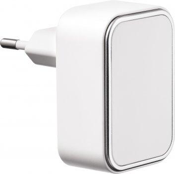Сетевое зарядное устройство Logan Dual USB Wall Charger 5V 2A CH-2 White