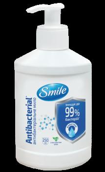 Упаковка мила Smile з антибактеріальним ефектом 250 мл х 2 шт. (4823071644692)