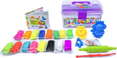 Набор теста для лепки Lovin'do Фиолетовый ящик (41119) (4820199474453)