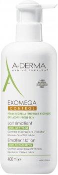 Смягчающий лосьон для тела A-Derma Exomega Control 400 мл (3282770110173)