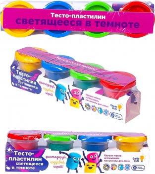 Набор для лепки Тесто-пластилин Светящееся в темноте Genio Kids (TA1021V)