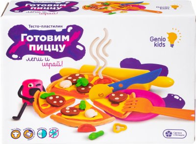 Набор для лепки Genio Kids Готовим пиццу (TA1036V)