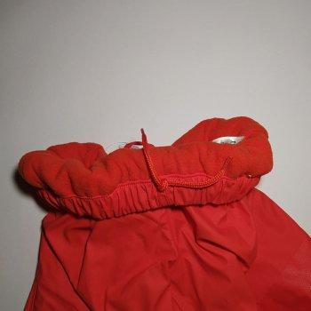 Дитячі штани для хлопчиків Lupilu Брудопруф на флісі Червоні