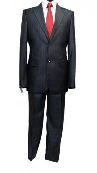 Чоловічий костюм West-Fashion 907 темно-синій 182