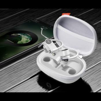 Наушники беспроводные Bluetooth Remax TWS-20 в кейсе Белые (gr_015387)