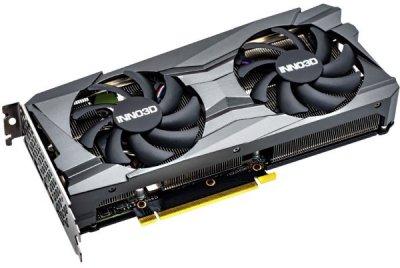Відеокарта Inno3D GeForce RTX 3060 Twin X2 OC 12GB GDDR6 (192bit) (1792/15000) (3 x DisplayPort, HDMI) (N30602-12D6X-11902120)