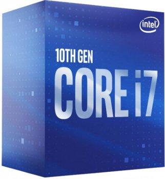 Процесор CPU Core i7-10700 8-CORE 2,90-4.80 Ghz/16Mb/s1200/14nm/65W Comet Lake (BX8070110700) s1200 BOX